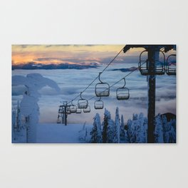 LAST CHAIR Canvas Print