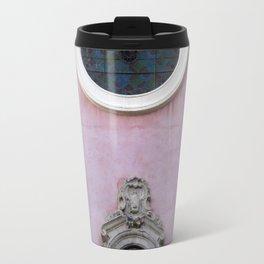 Pink Spanish Facade Travel Mug