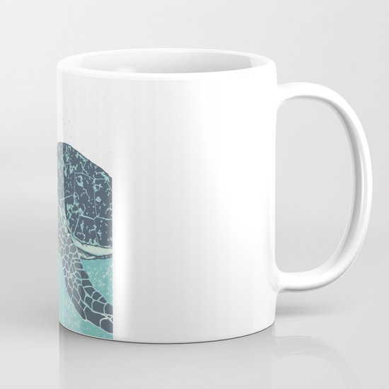 Sea Foam Sea Turtle Mug