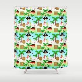 Children's fun pattern Shower Curtain