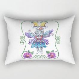 Angel Kitty Rectangular Pillow