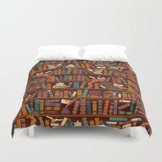 Bookshelf Duvet Cover