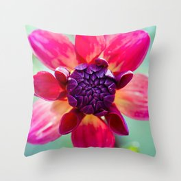 Dahlia / In The Garden / 2 Throw Pillow