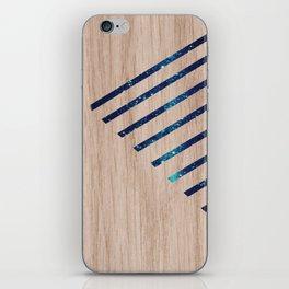 Wood Galaxy  iPhone Skin