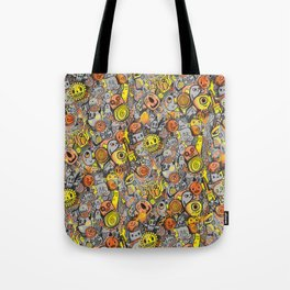 Pencil People Tote Bag