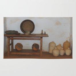 Clay Pots Rug