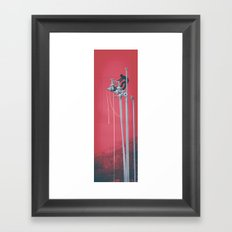 Drooling Machine Framed Art Print