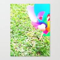 plain Canvas Prints featuring Plain Sight by Rachel