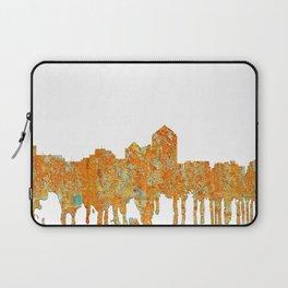Albuquerque, New Mexico Skyline - Rust Laptop Sleeve