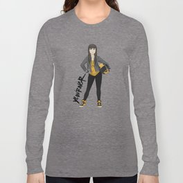 YLWRNGR Blog Mascot Long Sleeve T-shirt