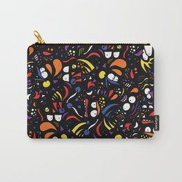 Hidden Faces Carry-All Pouch
