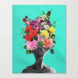 Alien Bouquet  Canvas Print