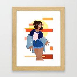 Carelessness Framed Art Print