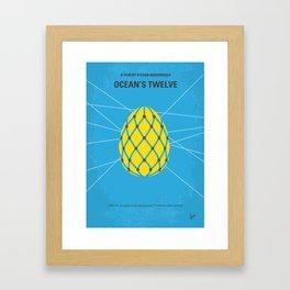 No057 My Oceans 12 MMP Framed Art Print