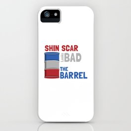 Horse racing rodeo horsemanship sayings gift iPhone Case