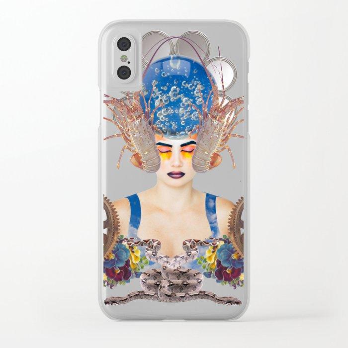 Sleeping Beauty by Lenka Laskoradova Clear iPhone Case