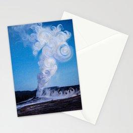 Old Faithful & Full Moon Stationery Cards
