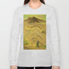 Wonderful desert mountains Long Sleeve T-shirt