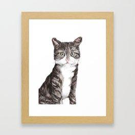 That Cat Framed Art Print