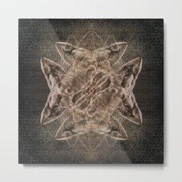 Chrysalis — Spun Gold Metal Print