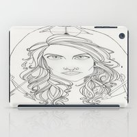 allison argent iPad Cases featuring Allison by Wolfhearted