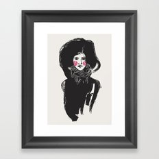 I'd Prefer to Remain a Mystery Framed Art Print