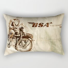 BSA - Vintage Poster Rectangular Pillow