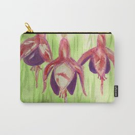 Fancy Fuchsias Carry-All Pouch