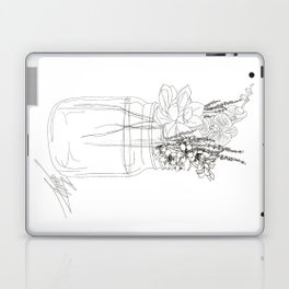 Succulents like to Cuddle Laptop & iPad Skin