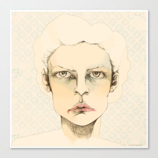 """portrait of anybody"" Canvas Print"