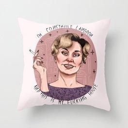 I'm Constance Langdon Throw Pillow