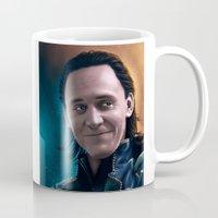 loki Mugs featuring Loki by Blind Leviathan