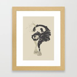 Dr. Jekyll & Mr. Hyde Framed Art Print