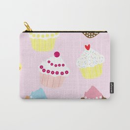 I Love Cupcakes Carry-All Pouch