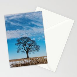 Blue Above Stationery Cards