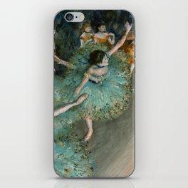 Degas - Swaying Dancer (Dancer in Green) iPhone Skin