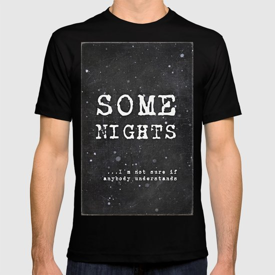 SOME NIGHTS T-shirt