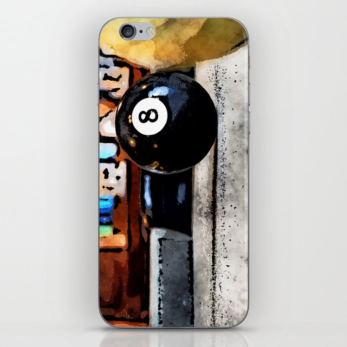 Shooting For The Eight Ball iPhone Skin