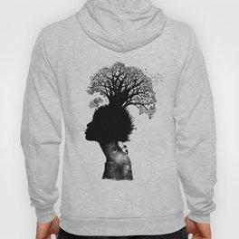 Natural Black Woman Hoody