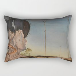 Salvador DalI - Portrait of Madame Isabel Styler Tas (Melancolia), 1945, Scharf Gerstenberg Museum, Rectangular Pillow