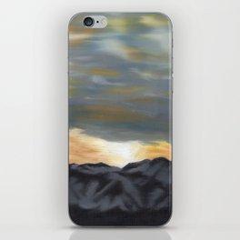 Mountain Dawn Oil Painting iPhone Skin