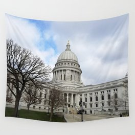 Wisconsin State Capitol Building - Madison, WI, USA Wall Tapestry