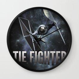 Star Wars - Tie Fighter Wall Clock
