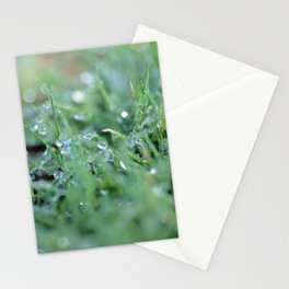 Morning Glitter Stationery Cards