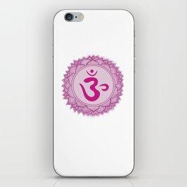 Sahasrara Crown Chakra iPhone Skin