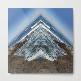 Ocean Edge - San Diego, CA Metal Print