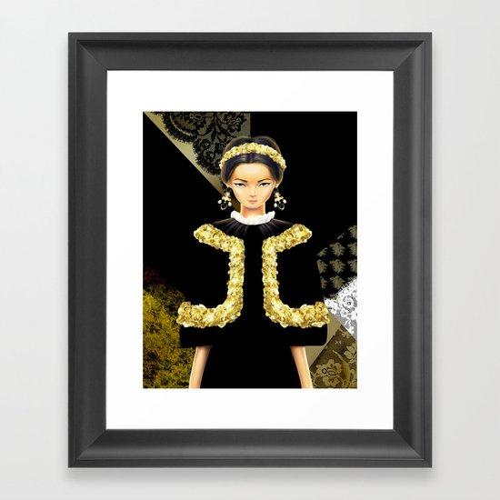 Dolce & Gabbana FW12 Framed Art Print