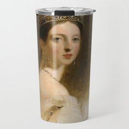 Queen Victoria Travel Mug