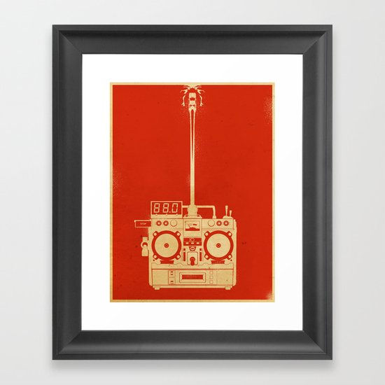 88mph Framed Art Print