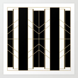 Black & Gold - Art Deco Kunstdrucke